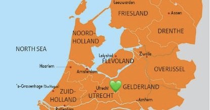 Only 60 km from Amsterdam