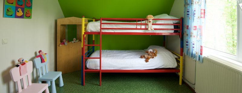 kinderslaapkamer kidsbungalow zonder beer